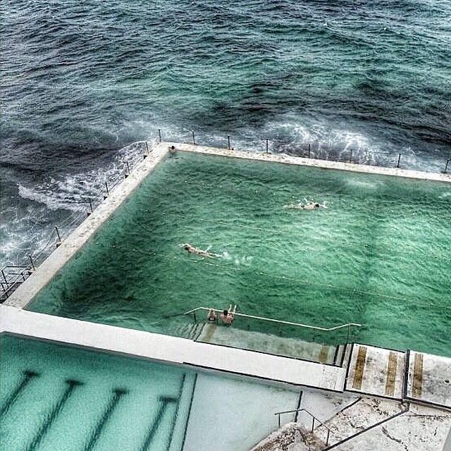 Amazing #ocean #pool at #icebergs! #sydney #bondibeach