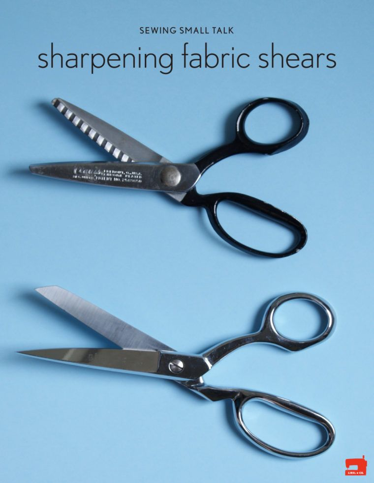 Sewing Small Talk Sharpening Fabric Shears Sewing Fabric Scissors