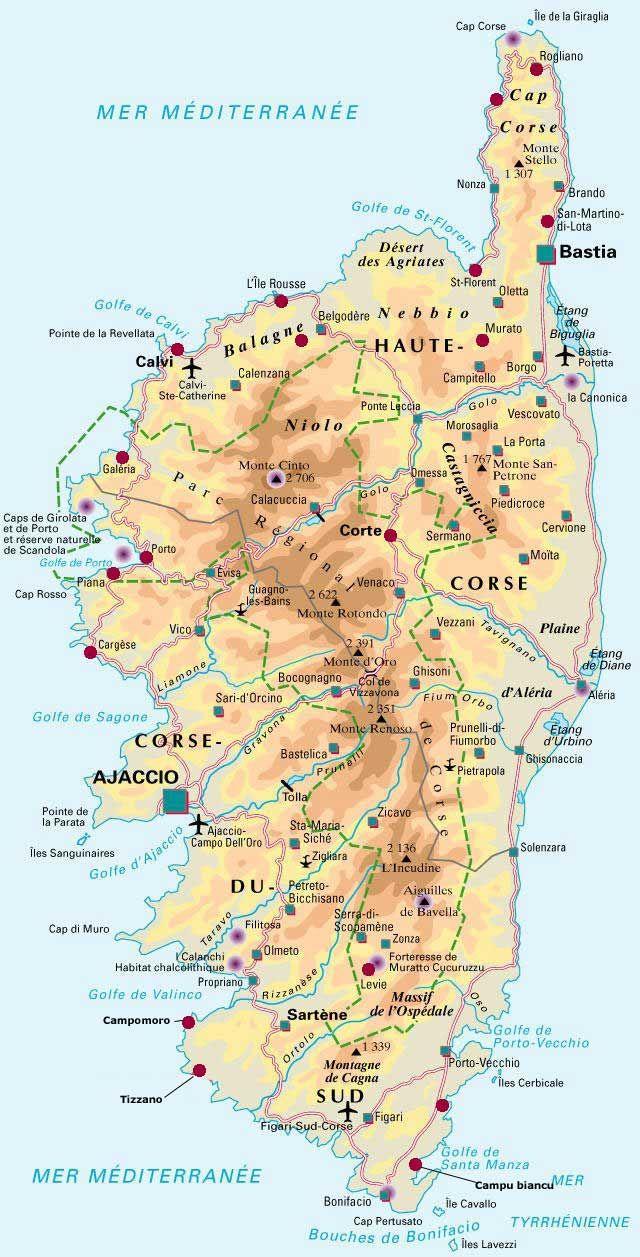 Epingle Par Jaap Kievit Sur La France Photos Et Geographie Corse