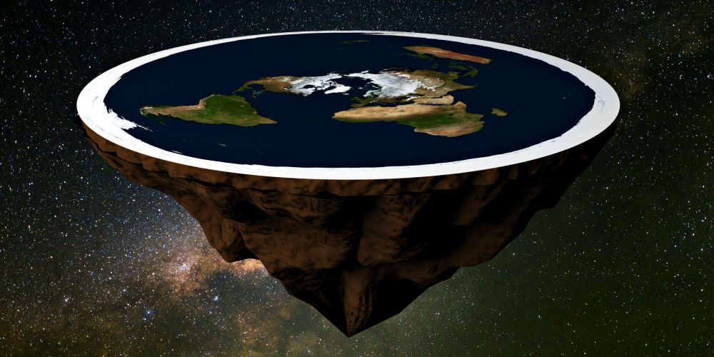 Its not incredible that there were people who believed the world was flat What is incredible is how there were people who believed the world was not flat Its not incredib...