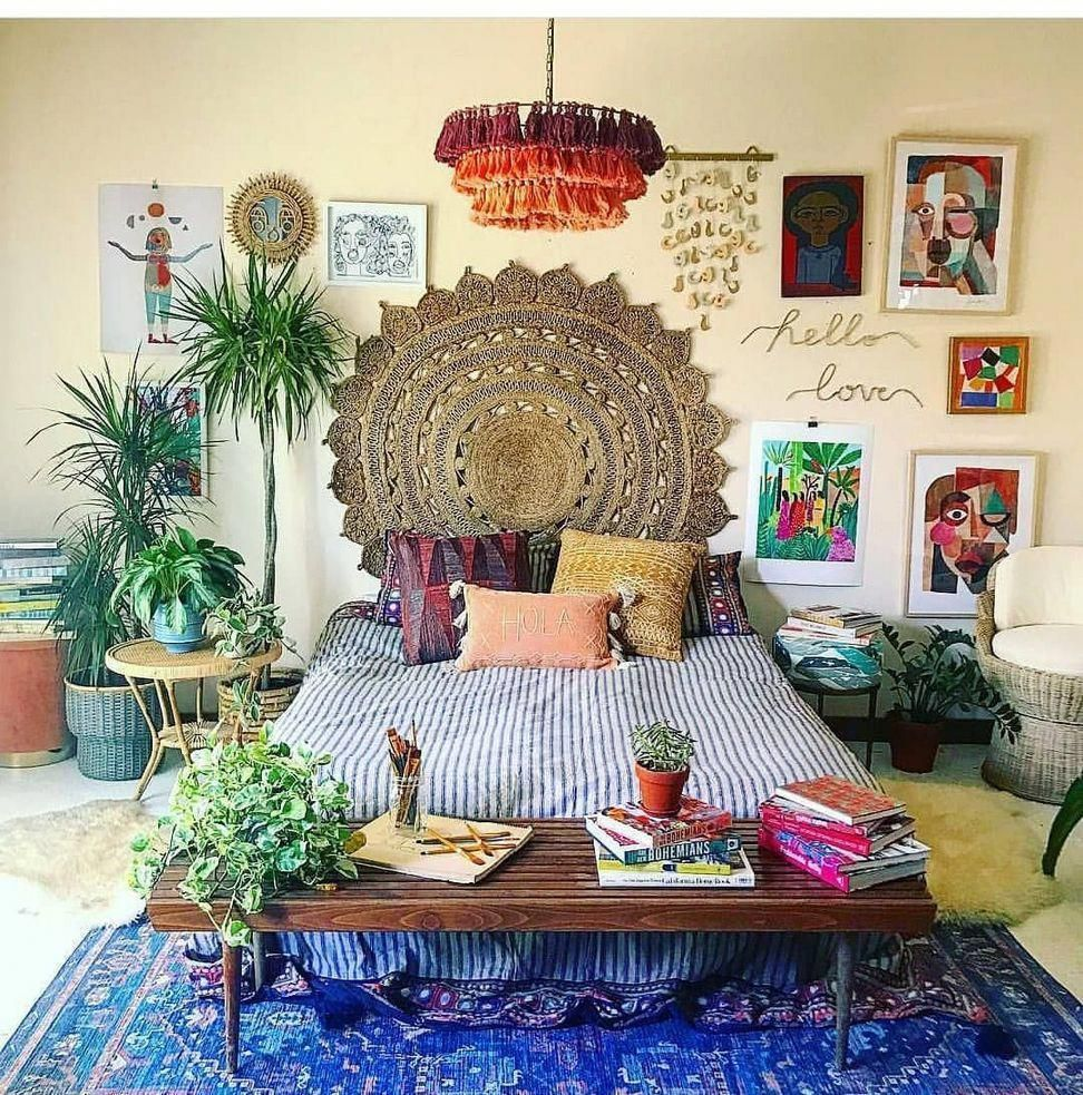 30+ Dreamy Bohemian House with Best of Exterior Interior Decor Ideas