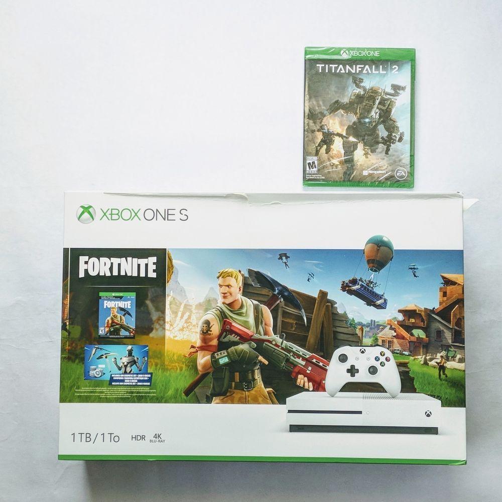 Xbox One S 1tb Fortnite Bundle Titafall 2 15 Off Code