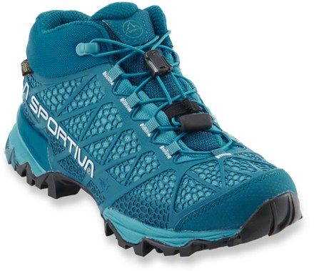 La Sportiva Women's Synthesis Mid GTX Hiking Shoes Fjord 42.5