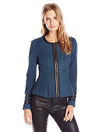 Amazon com: Nanette Lepore Women's Secret Society Jacket