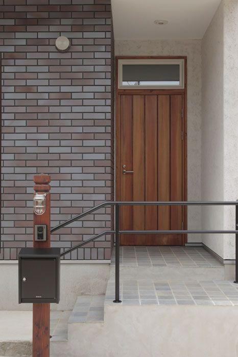 Canon 花音の家 Hughome 玄関ポーチ 階段 玄関ポーチ デザイン