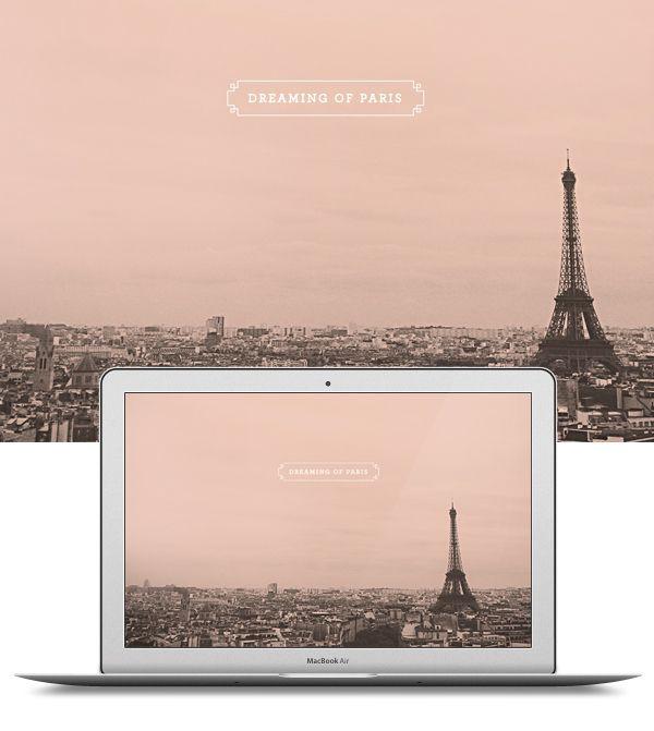Dreaming of paris dress up your - Design zitate ...