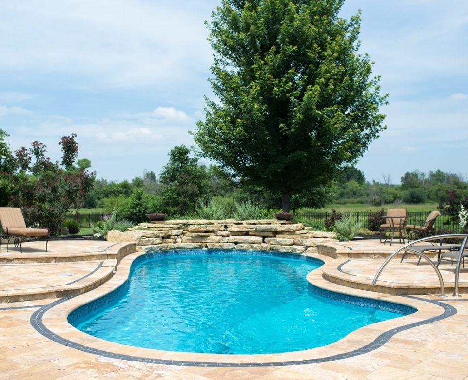 Inspiration 23x13 Imagine Pools Fiberglass Swimming Pools Pool Backyard Pool Designs