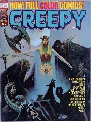 creepy+warren   Creepy 57 A, Nov 1973 Magazine by Warren