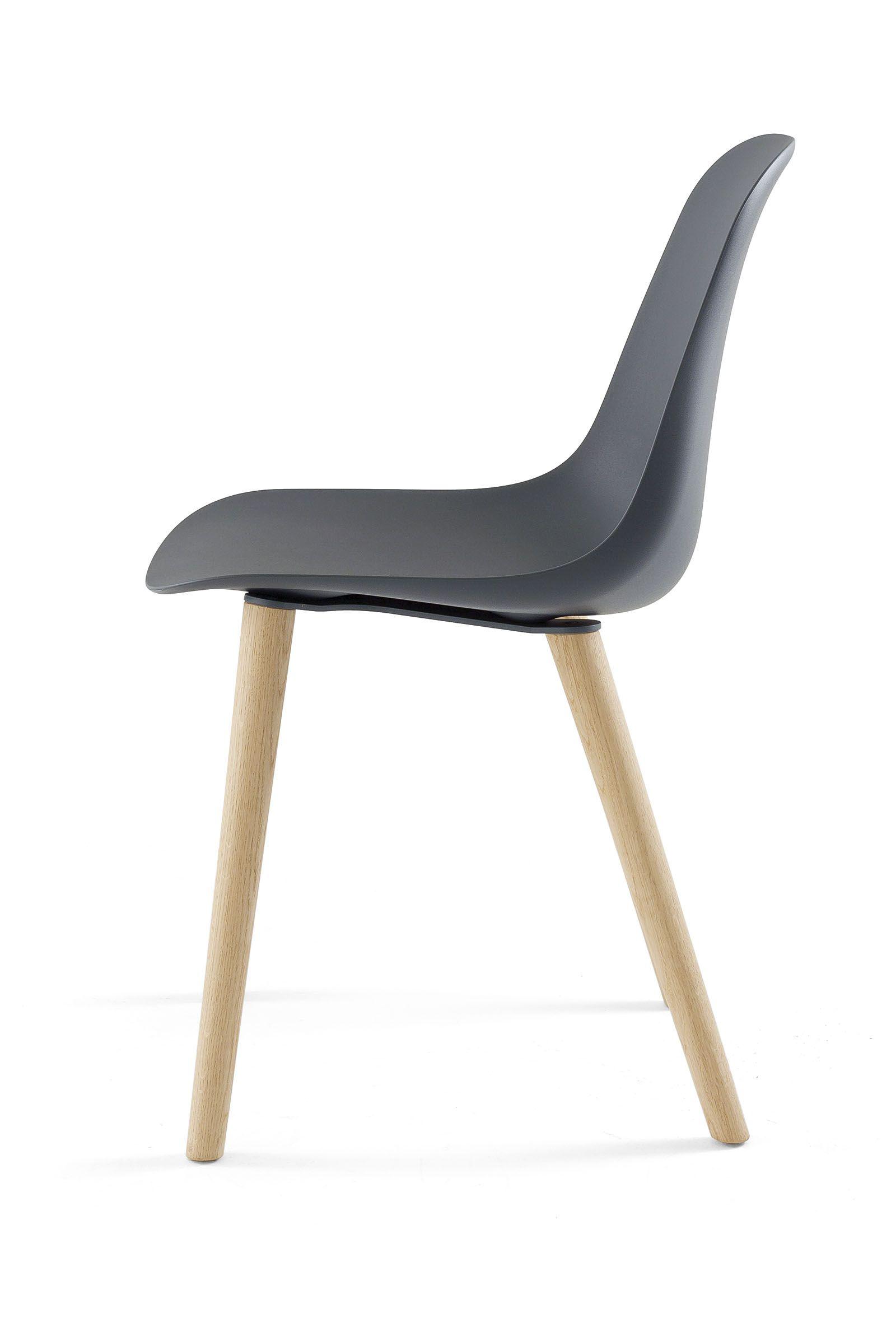 Chair POLA R 4W Pola Collection by Crassevig