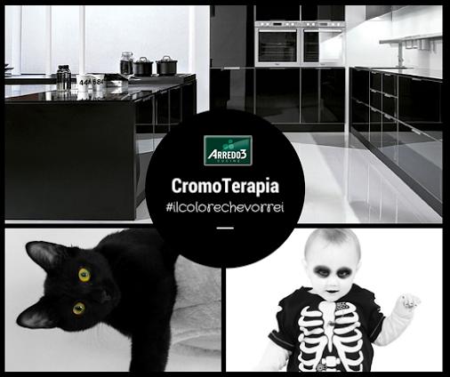Tutti pronti per La Notte delle Streghe? Happy Halloween! #black #ilcolorechevorrei #arredo3 #cromoterapia
