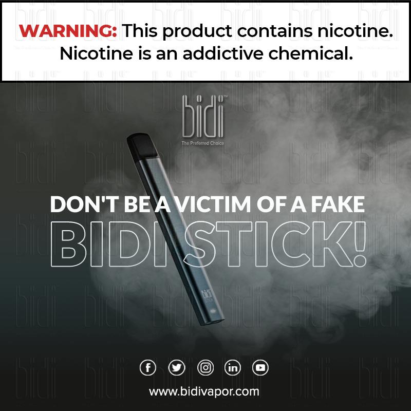 Pin On Beware Of Fake Bidi Sticks