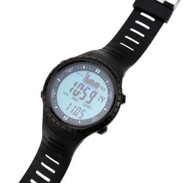 Spovan 5ATM Waterproof Outdoor Fishing Watch Altimeter Barometer Thermometer Multifunctional Digital Wristwatch-TOMTOP | Tomtop.com Mobile