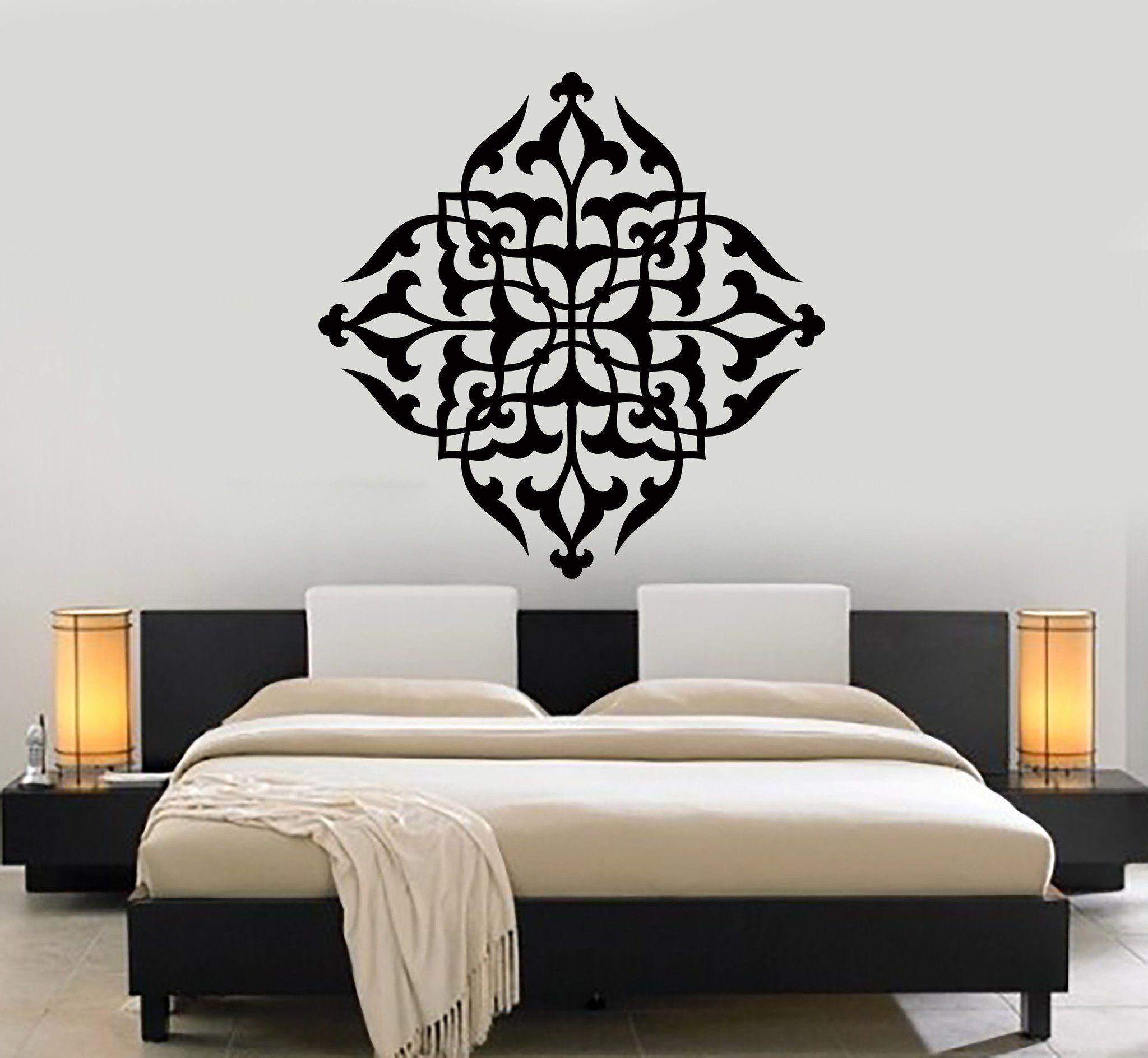 Wall Decal Mandala Yoga Meditation Buddha Bedroom Decor Unique Gift
