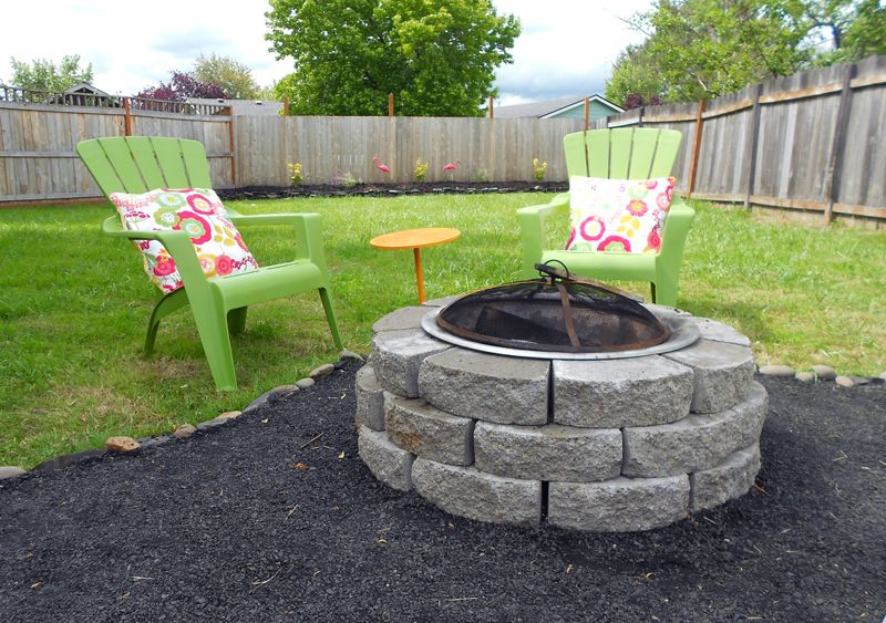 Abby And Adam: Backyard Makeover   DIY Crushed Rock Patio