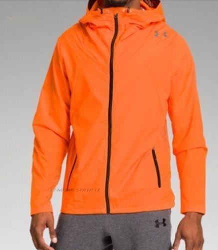 529f10ec1b4d0 Under Armour UA Storm Undeniable Lowpost Warmup Jacket Blaze Orange 1251769  S #UnderArmour