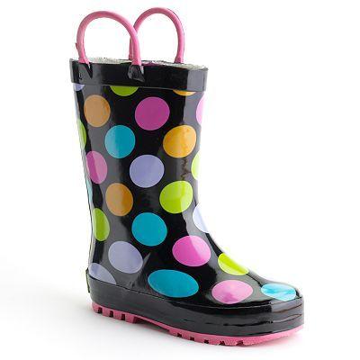 Western chief rain boots, Girls rain