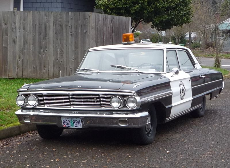Curbside Classic 1964 Ford Galaxie 500 Police Interceptor Ford
