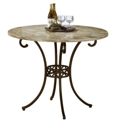 Hillsdale Brookside Counter Height Dining Table, 45-Inch
