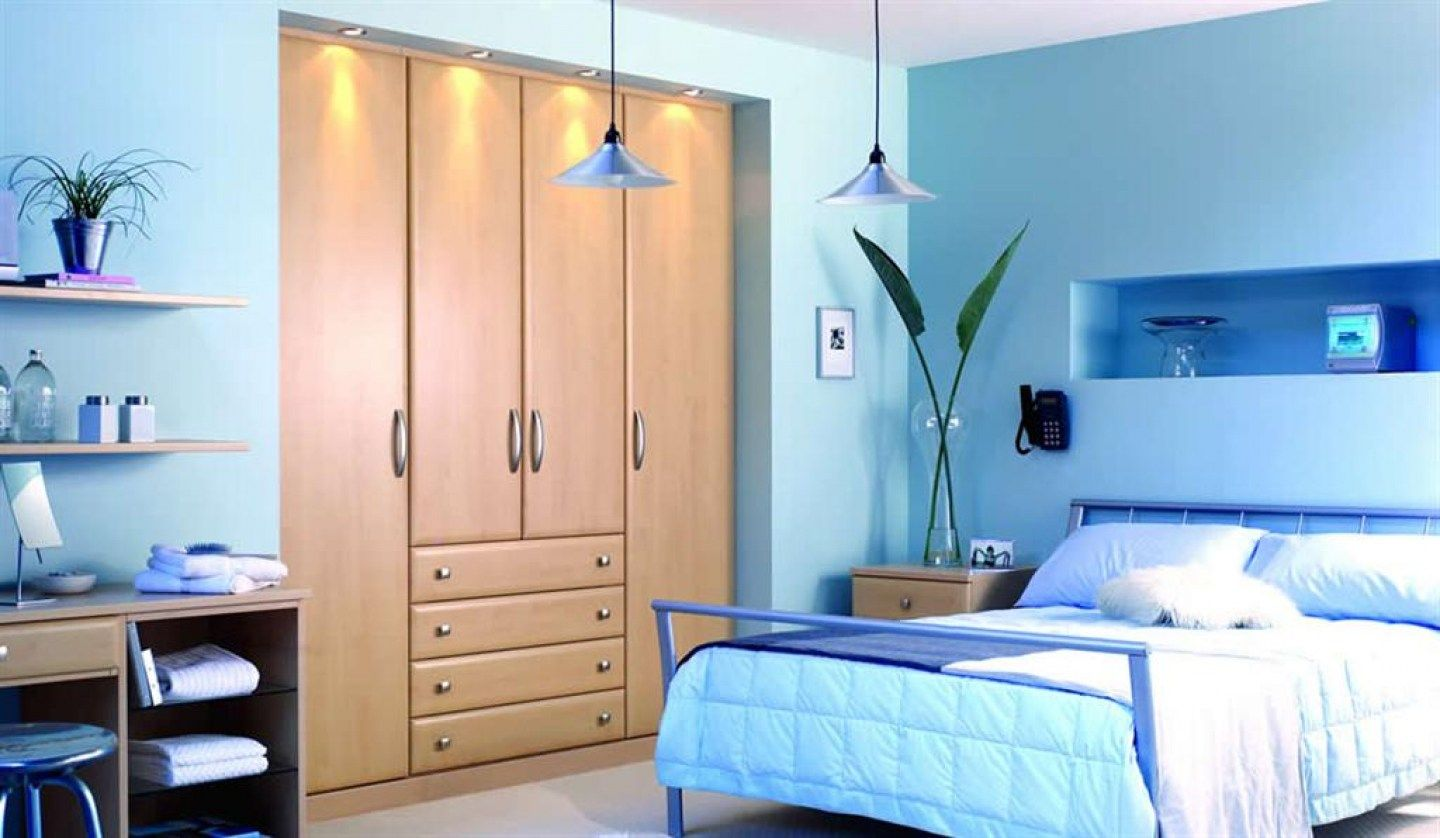 Tags Bed Bedroom Bedroom Color Bedroom Color Inspiration Paint Color Wooden Cabi Wall Paint Color Kamar Tidur Bernuansa Biru Ide Dekorasi Rumah Ide Kamar Tidur