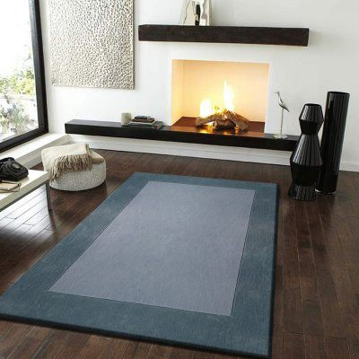 Rug Factory Transition Solid Indoor Area Rug Grey - T006GR5B7