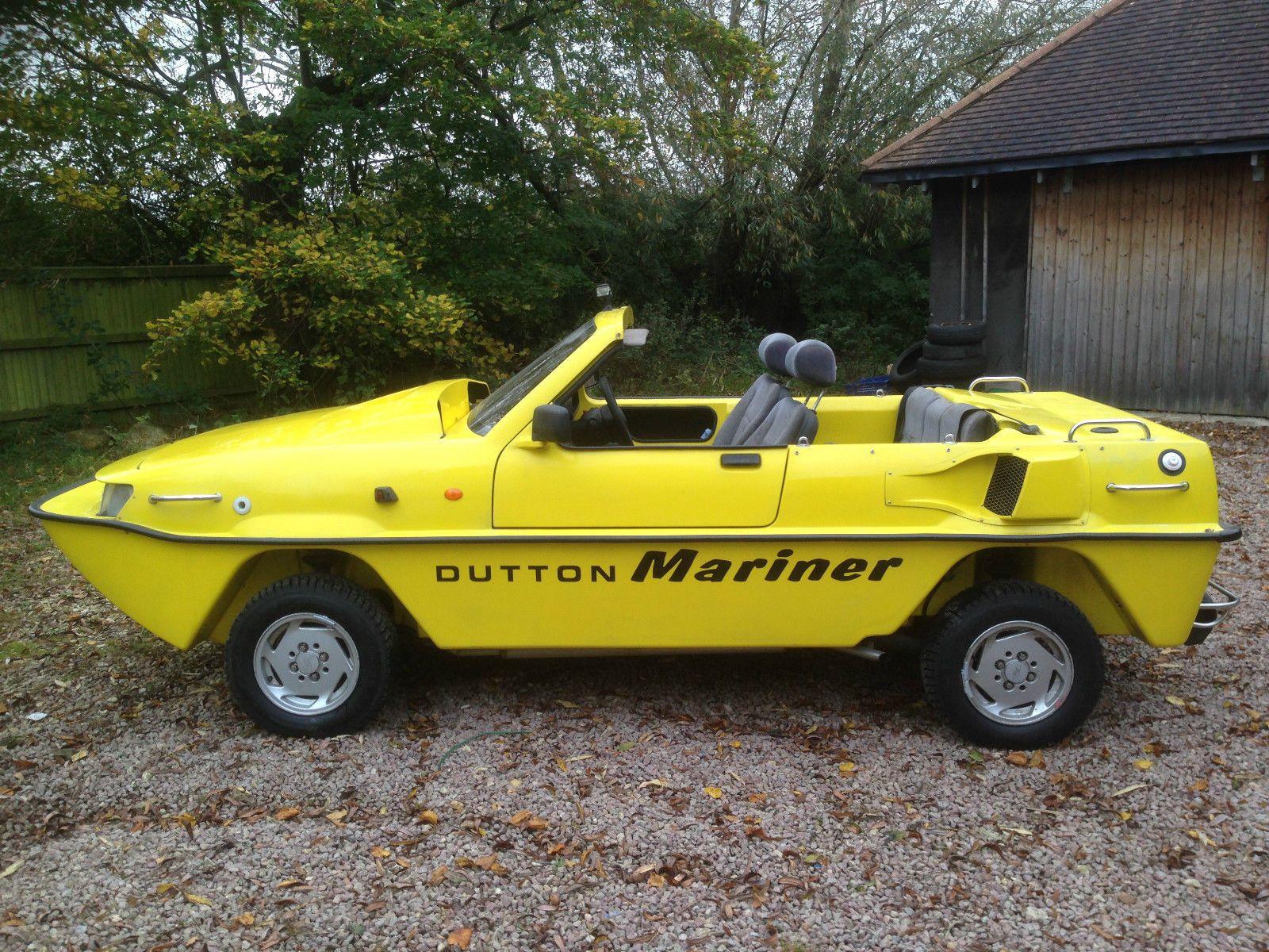 Amphicat for sale amphibious atv pictures - Dutton Mariner Amphibious Car Amphib Amphicar Twin Jet Diesel