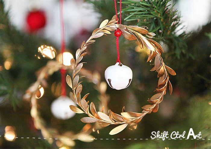 Christmas decoration red white Christmas by HappyDollsByLesya
