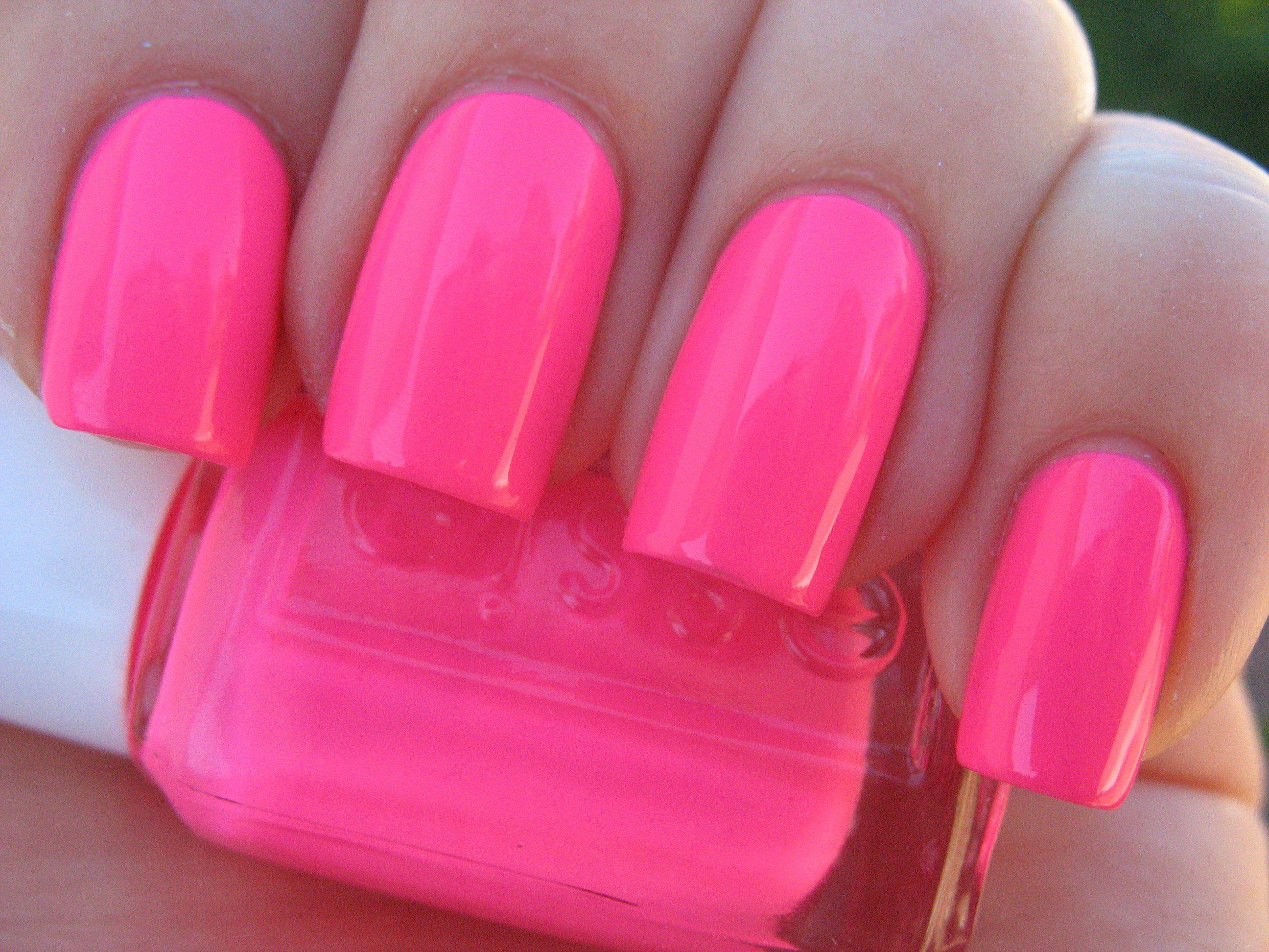 pink parka - essie love the nail length | Hair/Nails/Makeup ...