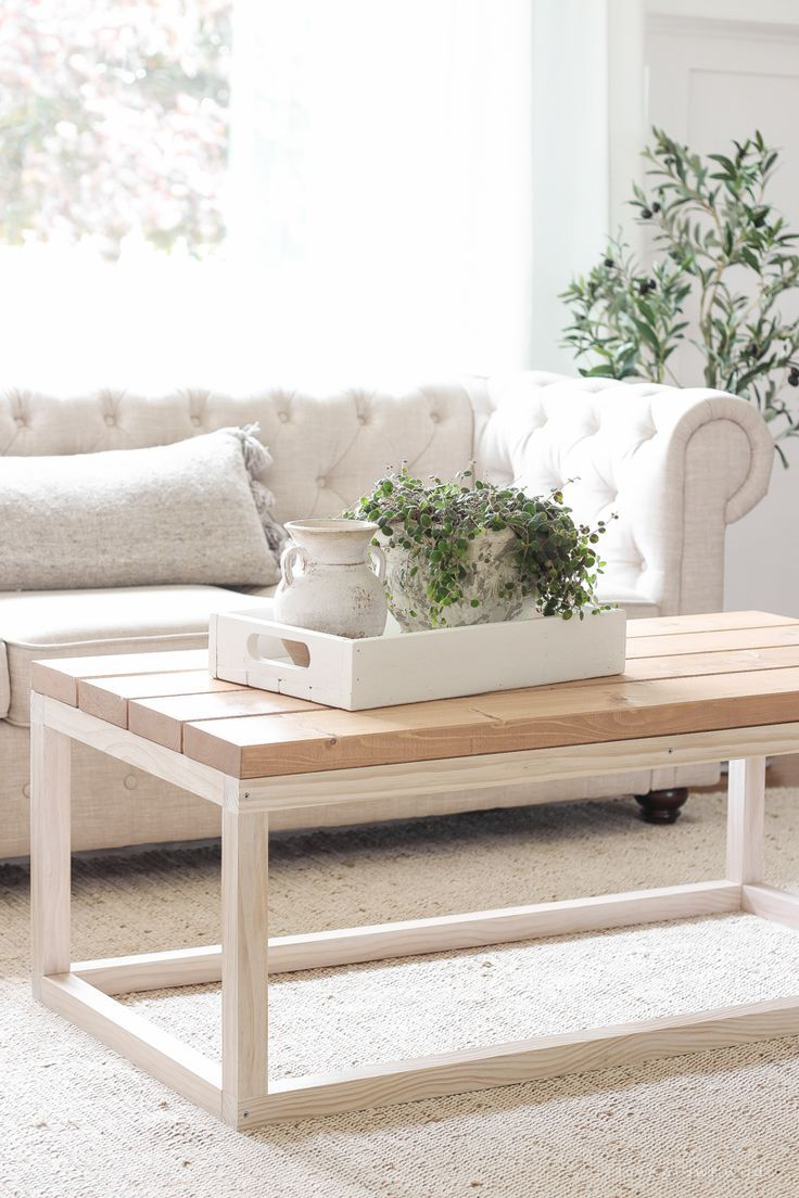 Photo of Simple DIY Coffee Table – Love Grows Wild