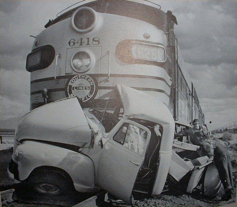 vintage train wreck images | The Vintage Metal Blog: Vintage Car ...
