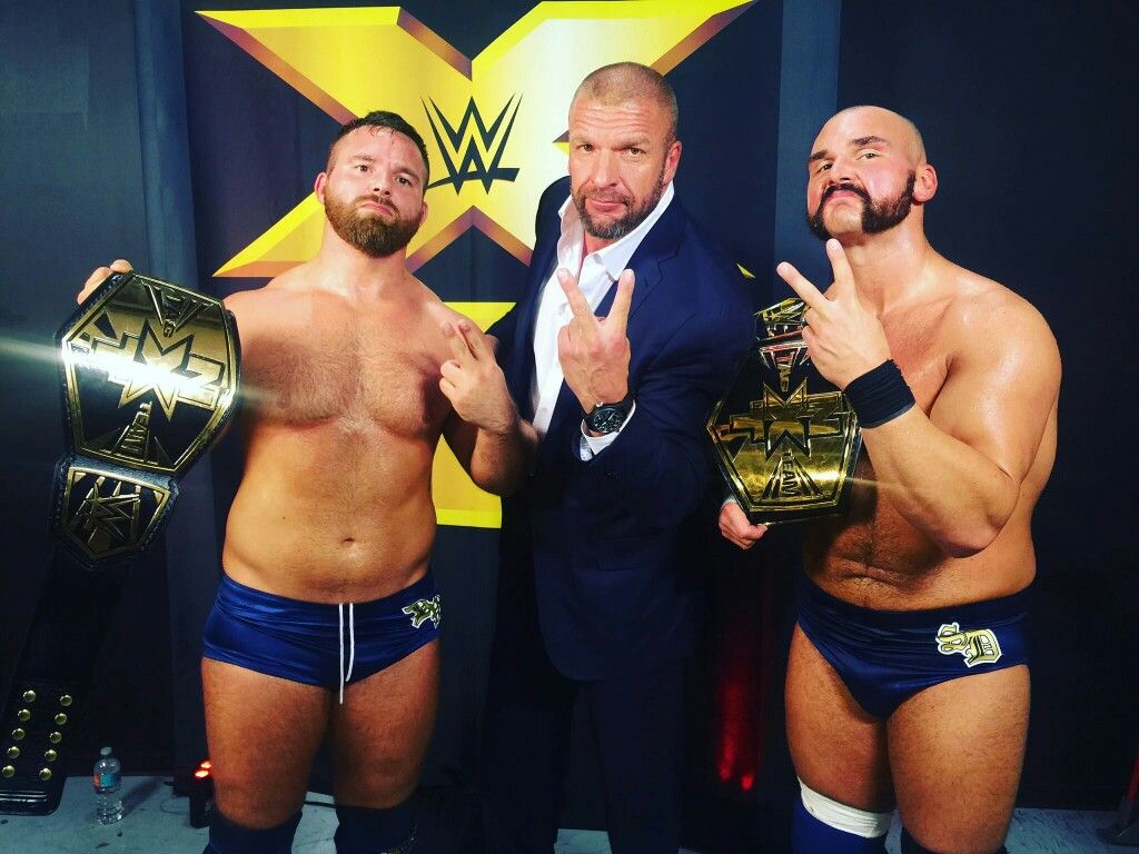 The Revival, Scott Dawson & Dash Wilder NXT Tag Champs