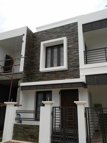 Natural Stone Elevation Wall Tile Elegant Design Rs 164 02 Home Building Design Modern House Exterior House Designs Exterior