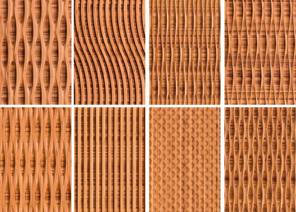 Bamboo wall panels plyboo 39 s reveal line from intectural - Paneles de bambu ...