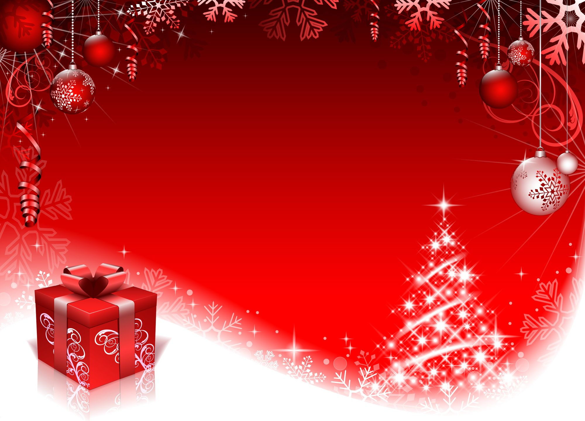 christmas backgrounds christmas backgrounds for photoshop wallpapers9 - Red Christmas Background