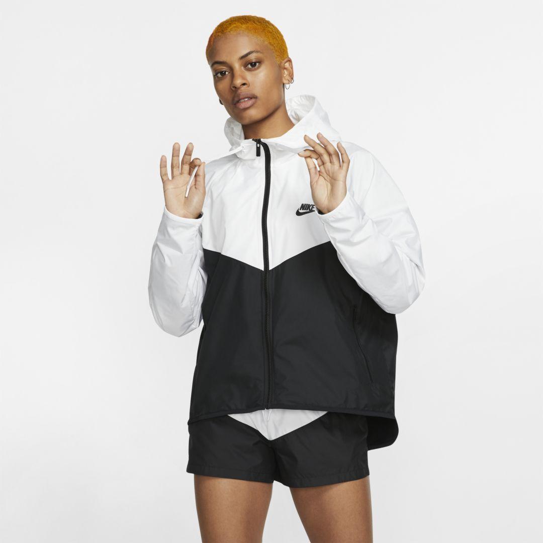 Nike Sportswear Windrunner Women's Jacket (White) in 2020