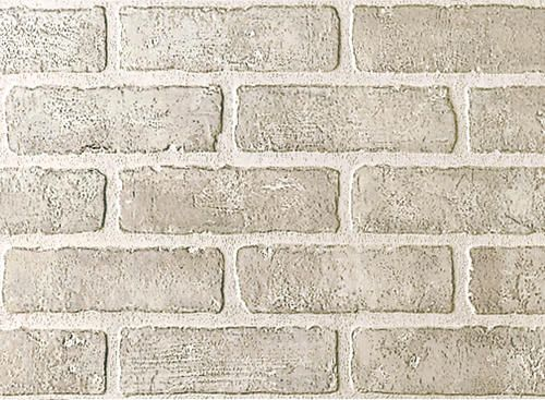 $25.00 DPI Brick Wall Panel - Brick Bianco * Perfect for the inside of my  fake