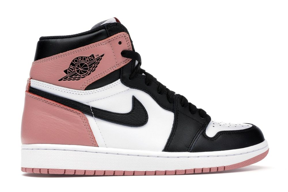 Jordan 1 Retro High Rust Pink in 2020 | Schuhe turnschuhe ...