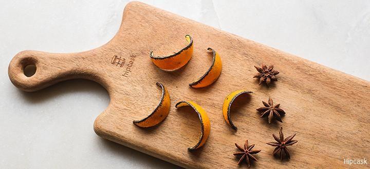 DIY Orange & Star Anise Simple Syrup #Cocktail #Basics