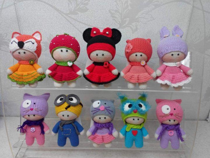 Amigurumi Doll Patterns : Crochet amigurumi doll pattern tutorial pics not english