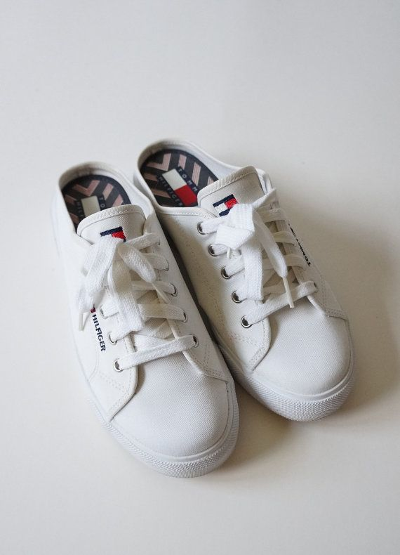 41229b0f0 Tommy Hilfiger 90s Platform Slip On Sneakers 90 s by ACTUALTEEN