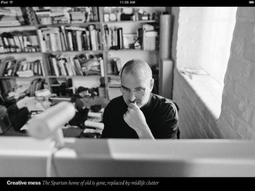 Steve Jobs Home Office Steve Jobs Apple Bill Gates Steve Jobs Steve Jobs
