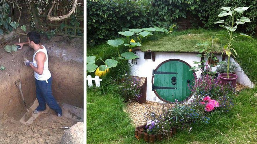 Construire Une Maison De Hobbit