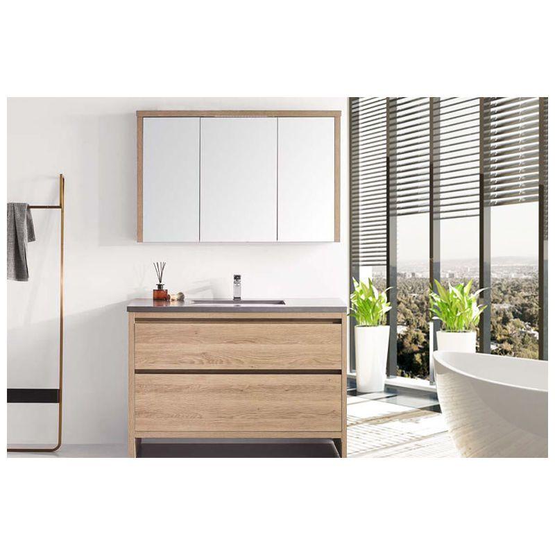 Meuble Salle De Bain Simple Vasque 100 Cm Kim Espace Insell In 2020 Vanity Bathroom