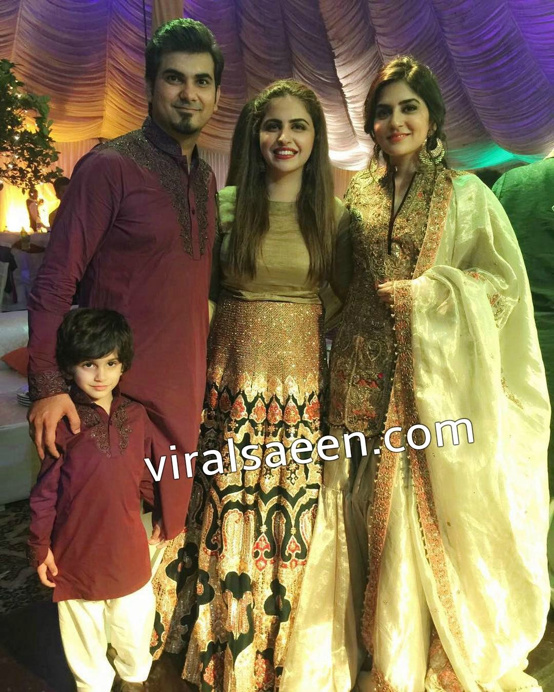 SanamBaloch On Mohammad Amir Wedding Pics Pakistani ActressWedding