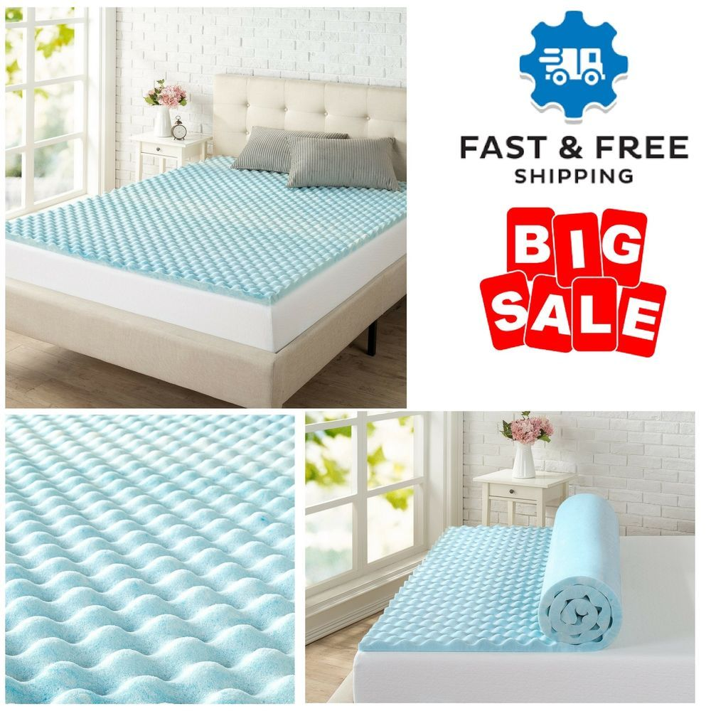 Full Size Bed Beauty Rest Cooling Gel Memory Foam Air Flow