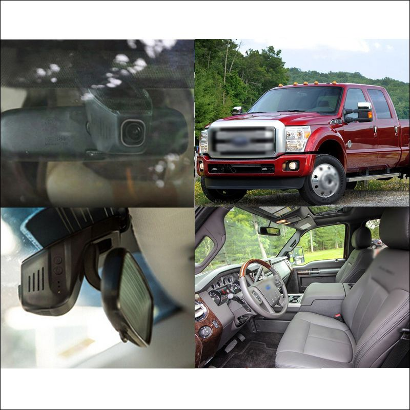 For Ford Super Duty Car front wifi DVR Driving Video