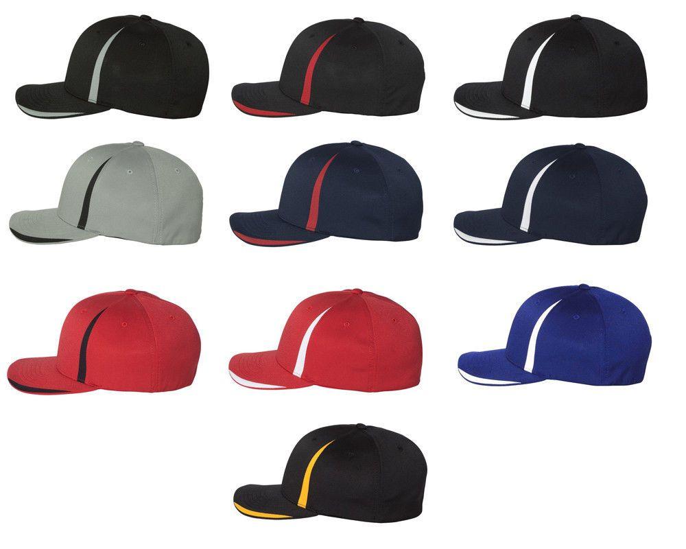 Flexfit Cool Dry Double Twill Cap Fitted Moisture Wicking Baseball Hat 6599 Baseball Hats Flexfit Hats