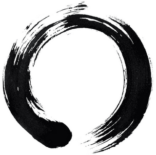 """Enso """"It symbolizes the Absolute enlightenment, strength, elegance, the Universe, and the void; it can also symbolize the Japanese aesthetic itself."""""""