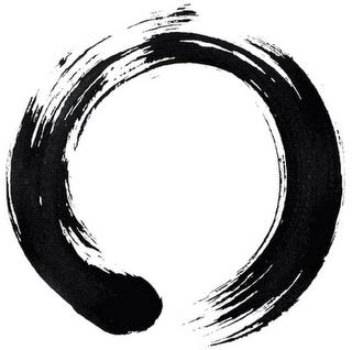 L Ensō Cercle En Japonais Est Le Symbole De La Vacuite Et De L