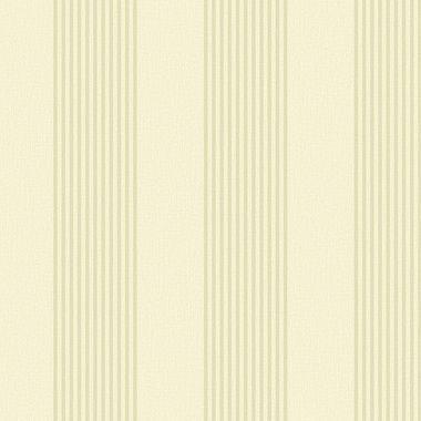 Belgian Luxe Wide Stripe Sand Wallpaper RW21210