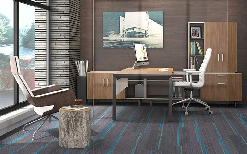 Contemporary Offices modern office desks   {decor} dma offices   pinterest   modern